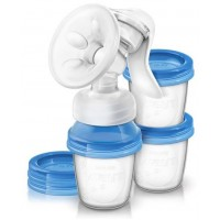 AVENT Natural Manual Breast Pump - with cups