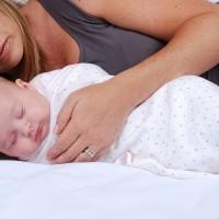 Baby Sense Cuddlewrap Swaddling Blanket - Pink Star