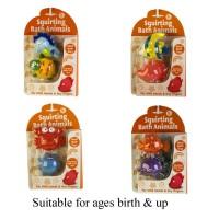 Beautiful Beginnings Squirting Bath Animals (assorted designs)