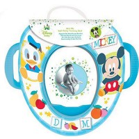 Beautiful Beginnings Disney Toilet Trainer Seat with Handles - Mickey Mouse