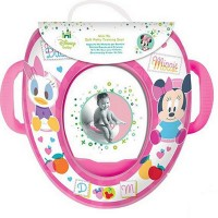 Beautiful Beginnings Disney Toilet Trainer Seat with Handles - Minnie Mouse