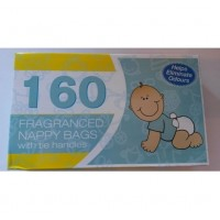 Bml Nappy Bags with Tie Handles