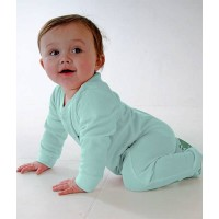 Creeper Crawlers Easy Crawl Suit - Mint