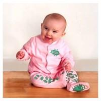 Creeper Crawlers Easy Crawl Suit - Pink