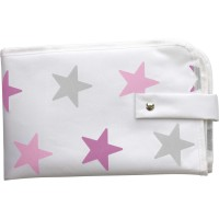 Dooky 3 in 1 Changing Pack - Pink Stars