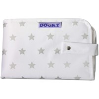 Dooky 3 in 1 Changing Pack - Silver Stars