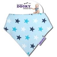 Dooky Dribble Bib - Blue Stars