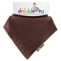 Dribble Ons Dribble Ons Brights - Brown