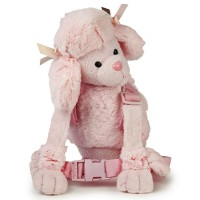 Goldbug Harness Buddy - Pink Poodle
