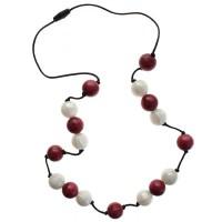 Gumigem Gumibeads Necklace - Cranberry