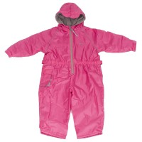 Hippychick Fleece Lined All In One Suit Pink