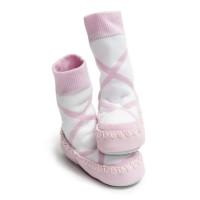 Mocc Ons Ballerina Slipper Socks (12-18 Months)