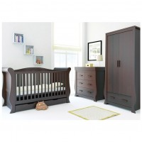 BabyStyle 3 Piece Furniture Room Set - HOLLIE WALNUT