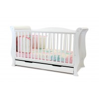 BabyStyle Cot Bed - HOLLIE WHITE