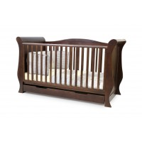 BabyStyle Cot Bed - HOLLIE WALNUT