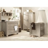 BabyStyle 4 Piece Furniture Room Set - BORDEAUX ASH