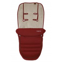 BabyStyle Hybrid Footmuff - LAVA RED