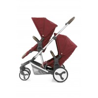 BabyStyle Hybrid Tandem Seat - LAVA RED