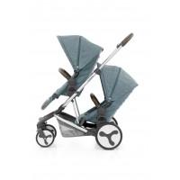 BabyStyle Hybrid Tandem Seat - MINERAL BLUE