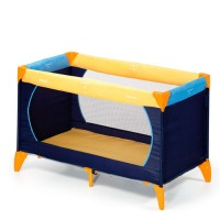 Hauck Dream n' Play Travelbed 60x120cm - Yell/Blue/Navy