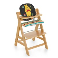 Hauck Disney Alpha Highchair Comfort Seat Pad - Pooh Ready To Play