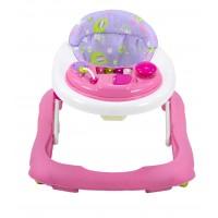 RedKite Baby Go Round Jive Walker - Pink Eleflump