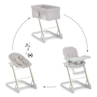 iCoo Grow With Me 123 Bassinet/Bouncer/Highchair/Frame - Diamond Beige